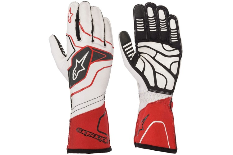 Alpinestars 1-KX V2 Glove white/red/black