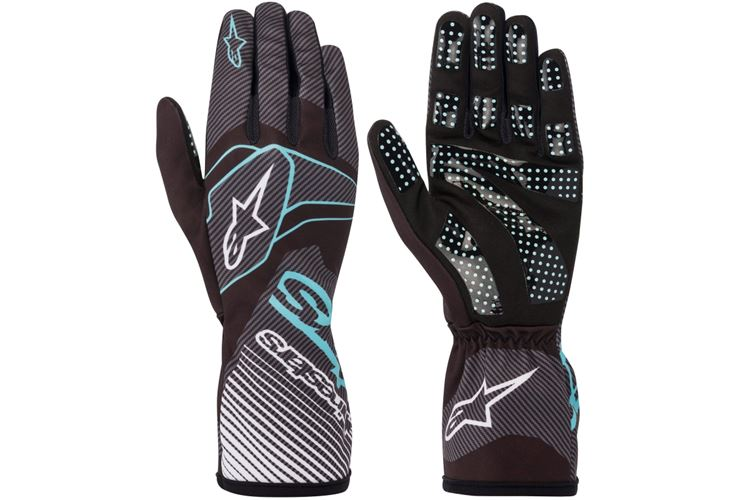 Alpinestars 1-K Race V2 carbon Glove black/turqouise