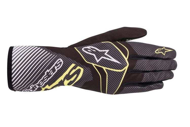 Alpinestars 1-K Race V2 carbon Glove black/green lime