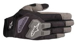 Alpinestars Engine Gloves Black Gray L