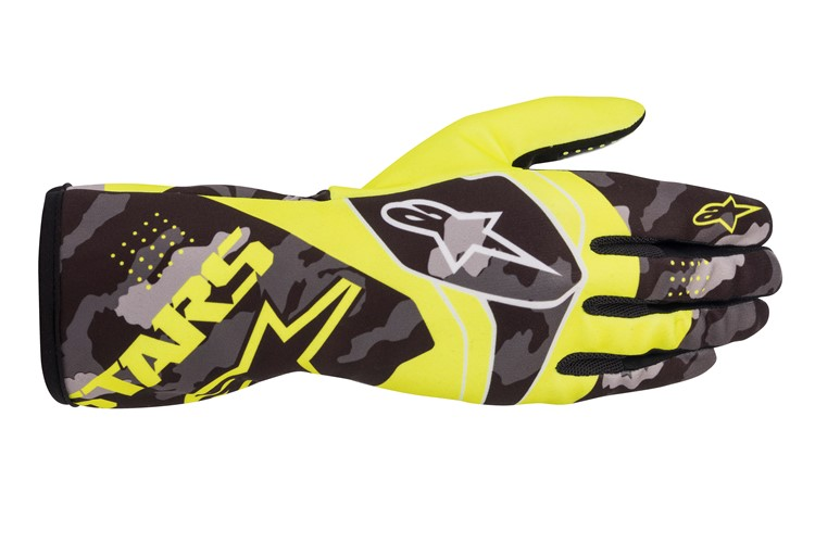 Alpinestars 1-K Race V2 CAMO Glove yellow/black