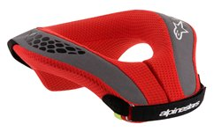 Alpinestars Sequence Youth Neck Roll Black Red L/XL