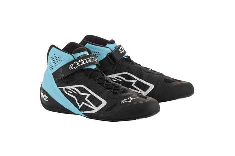 Alpinestars 1-KZ Shoes black/turquoise