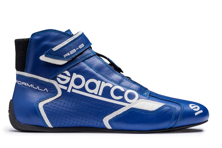Chaussures FIA Sparco Formula RB-8.1 Bleue Blanche 37