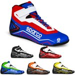 SPARCO Shoes K-Run Youth azure blue/red