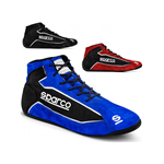 SPARCO Slalom + fabric and suede blue/black
