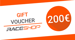 Gift Card / Voucher RaceShop 200€